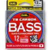 《デュエル》粘り強いトータルバランスフロロ、TB CARBON™ BASS 100m