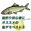 2016年、鮎釣り初心者にオススメの鮎ダモベスト3