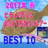 【ルアー初心者必見!】2017年春、ヒラメ釣りに揃えておきたいルアーベスト10