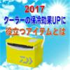 【2017】クーラーの保冷アップに役立つおすすめアイテムを紹介