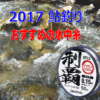 【2017 鮎釣り】おすすめの水中糸と特徴を解説